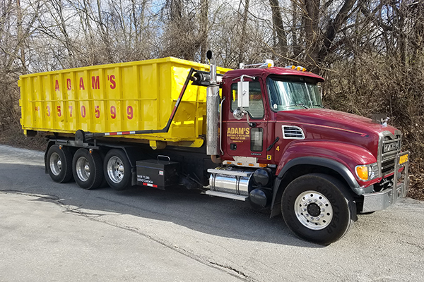 Adam's Disposal & Recycling Service - Blue Bell Dumpster Rental